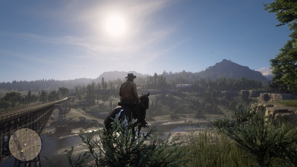 Screenshot By Jacob Ybarra (Playstation 4)  The vast and open plains of the American West.