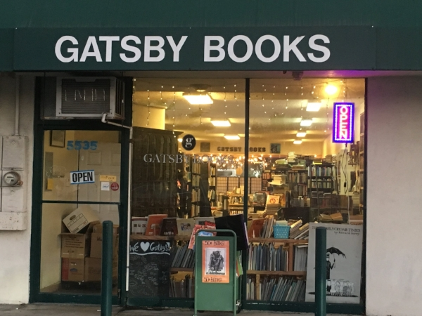 Photo: Joy Rowden  The Gatsby Books offers more than their great selection in books.
