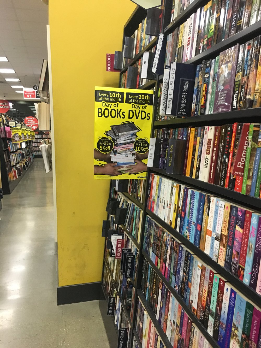 Photo: Joy Rowden  Book-Off is the place to go if you are looking to get rid of unused books and a bit more cash.