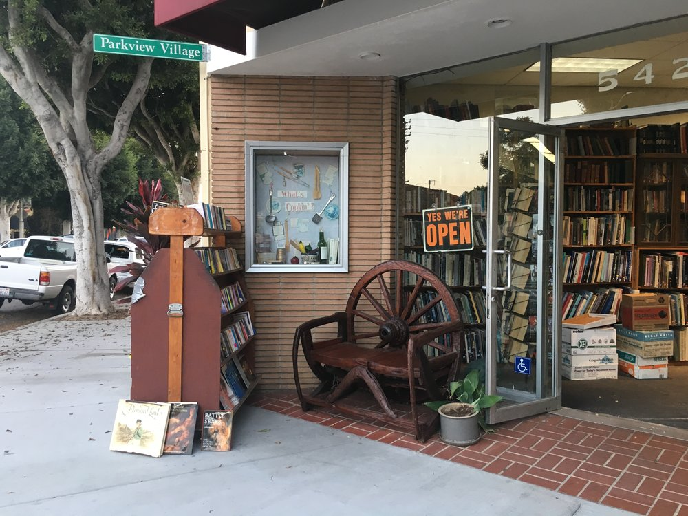 Photo: Joy Rowden  Enjoy a nice walk around Parkview Village before stopping by for some good reads.