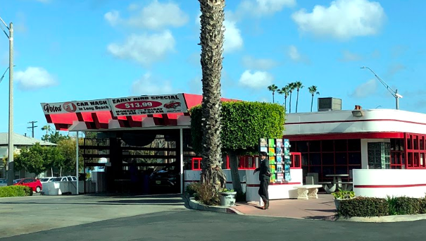 Give your car that old-school experience and treat it to a detailed car wash at this locale.