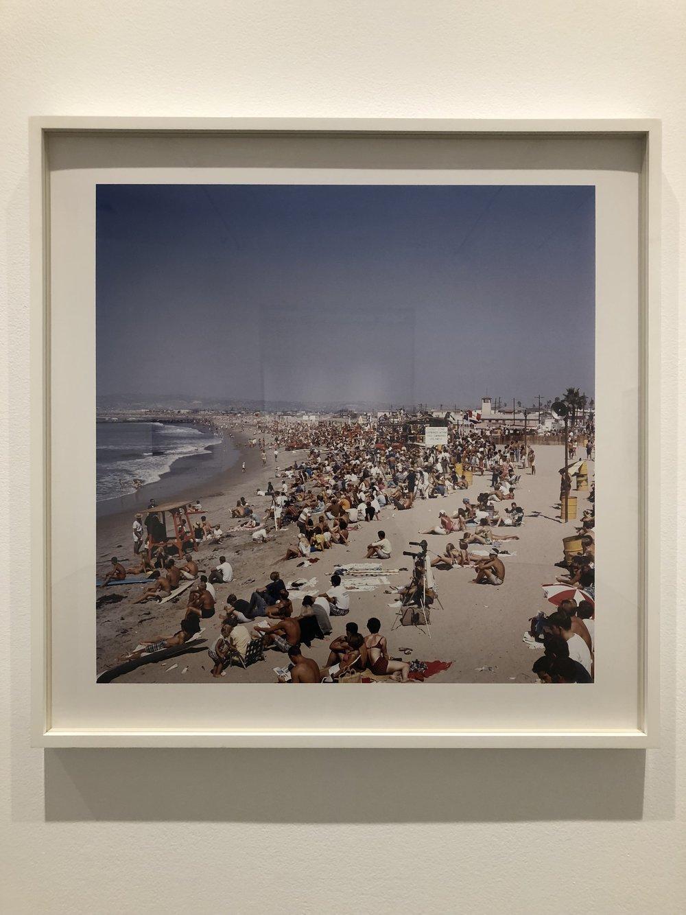 """The World Surfing Contest, Ocean Beach, San Diego"" 1966"