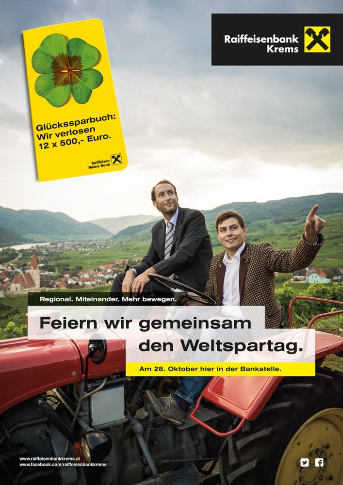 Raiffeisen Plakatkampagnen