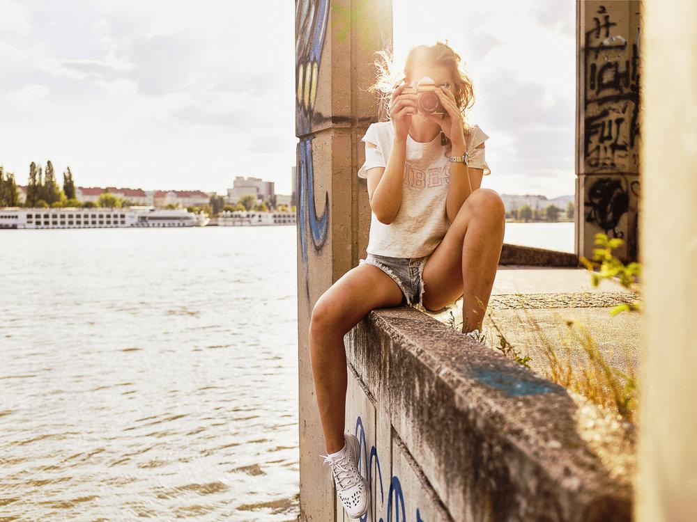 Lifestyleshooting Wien - Donauinsel