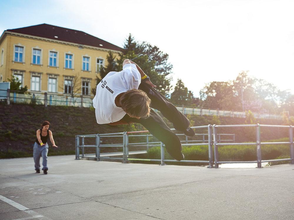 Serie Parcour Running Wien