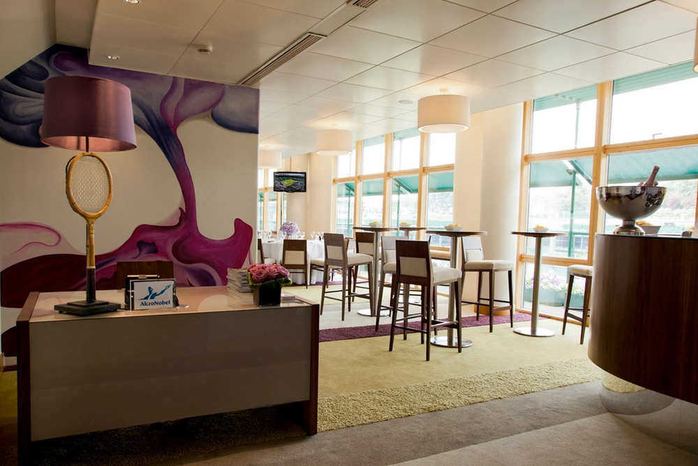 I worked in collaboration with Sonia Kearns on the hospitality suite for AkzoNobel...     View Gallery