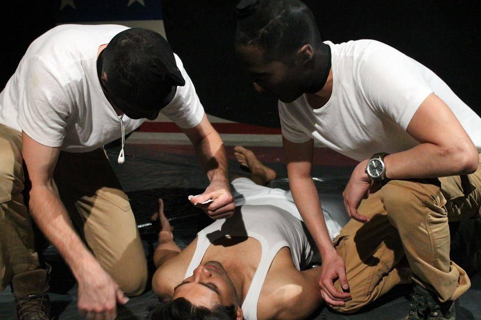 Mark Armstrong, Diljohn Sidhu, & Akie Kotabe | Theatre503