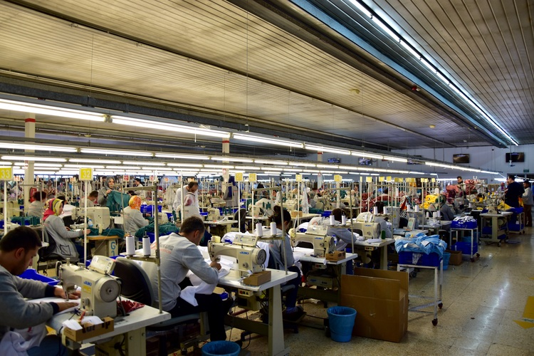 İskur - How does mass production in Clothes works in Kaharmanmaras ...