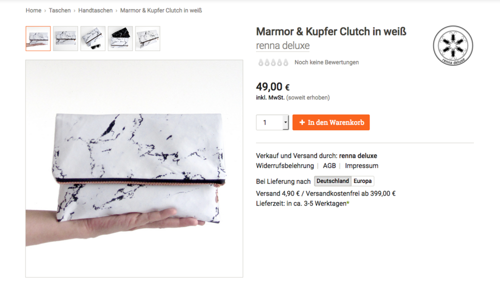 Mamor Clutch Renna Deluxe