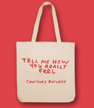 d1ce8197b Courtney Barnett - Tell Me How You Really Feel (RED Vinyl + Tote Bag ...