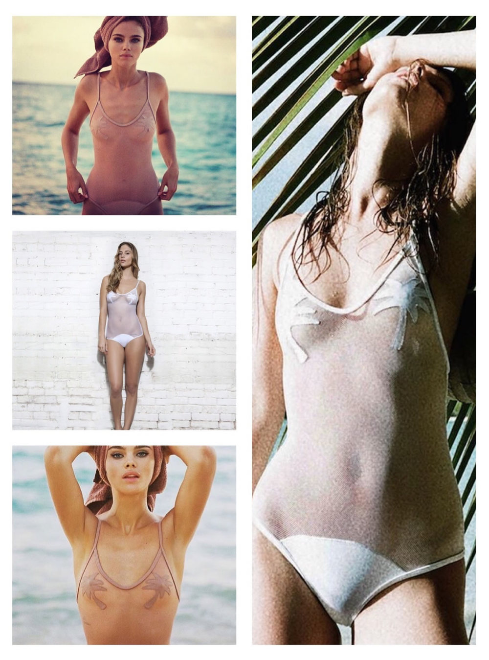 Minimale Animale Coco Golden Triangle One piece