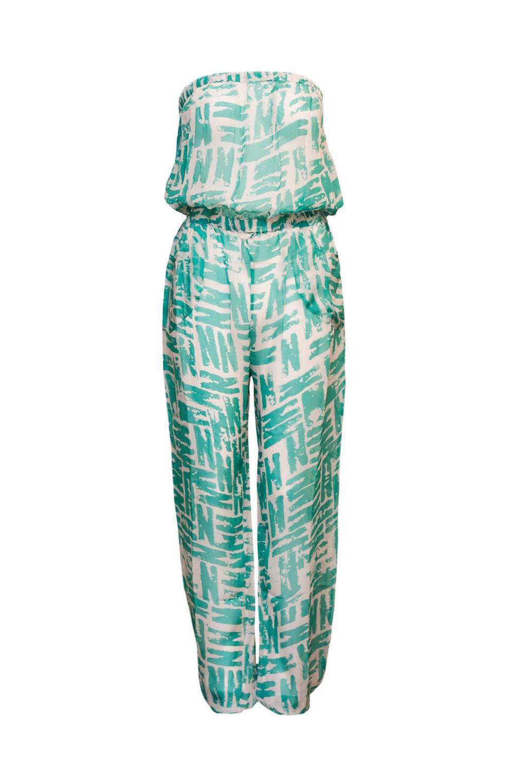 Karma Beach Lipe Silk Jumpsuit