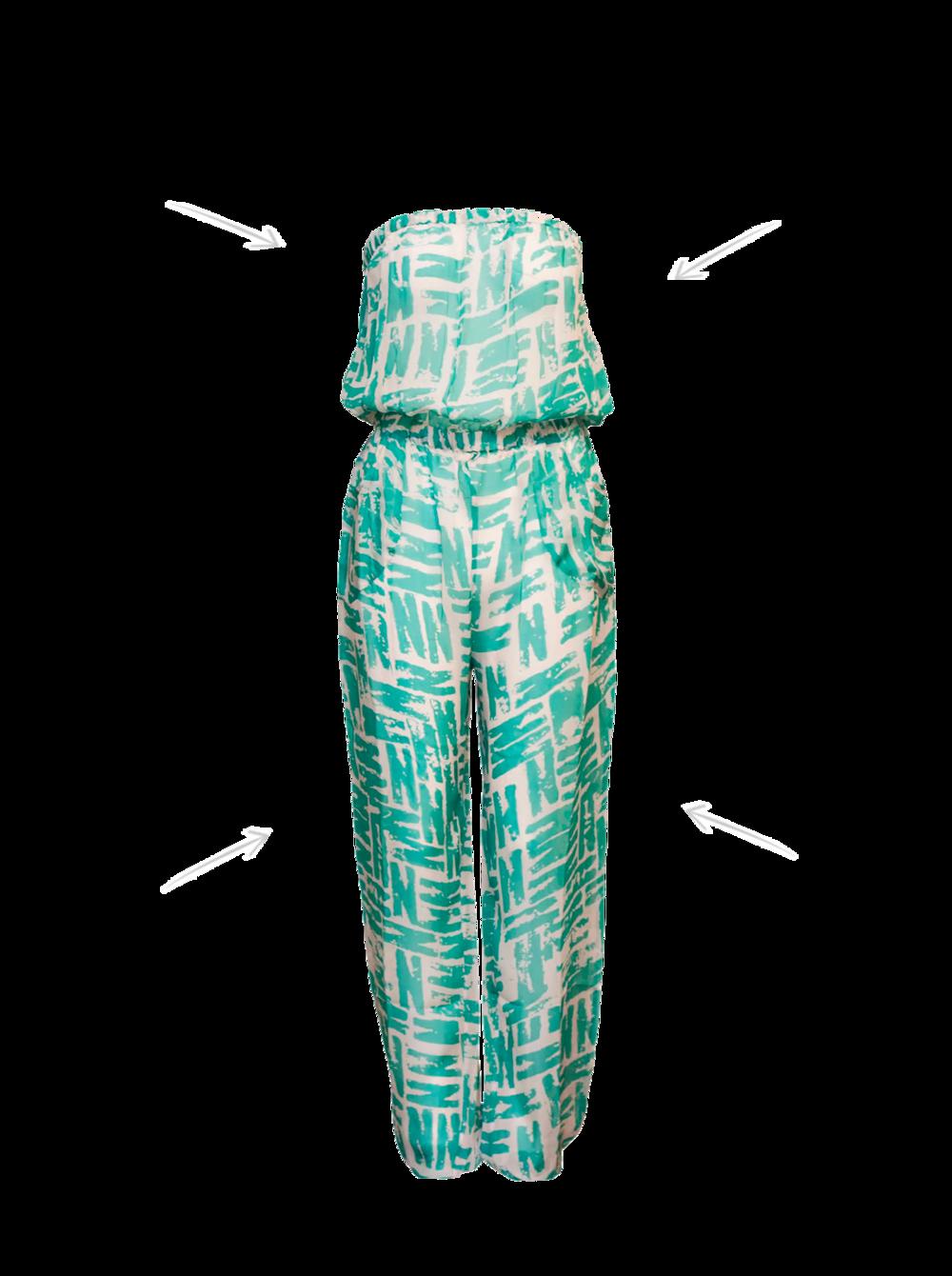 Lipe jumpsuit Karma Beach / Peeping-T £243
