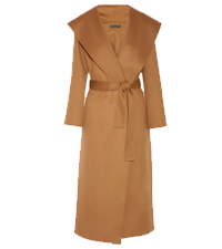 MUNA OVERSIZED WOOL WRAP COAT THE ROW / NET-A-PORTER £3,720