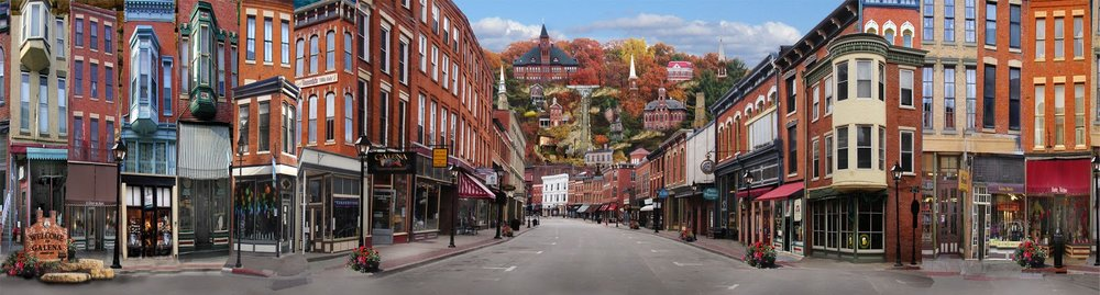 Downtown Galena, Illinois