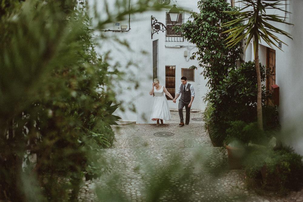 Ashley & Martin's intimate destination wedding in Altea in Alicante, Spain