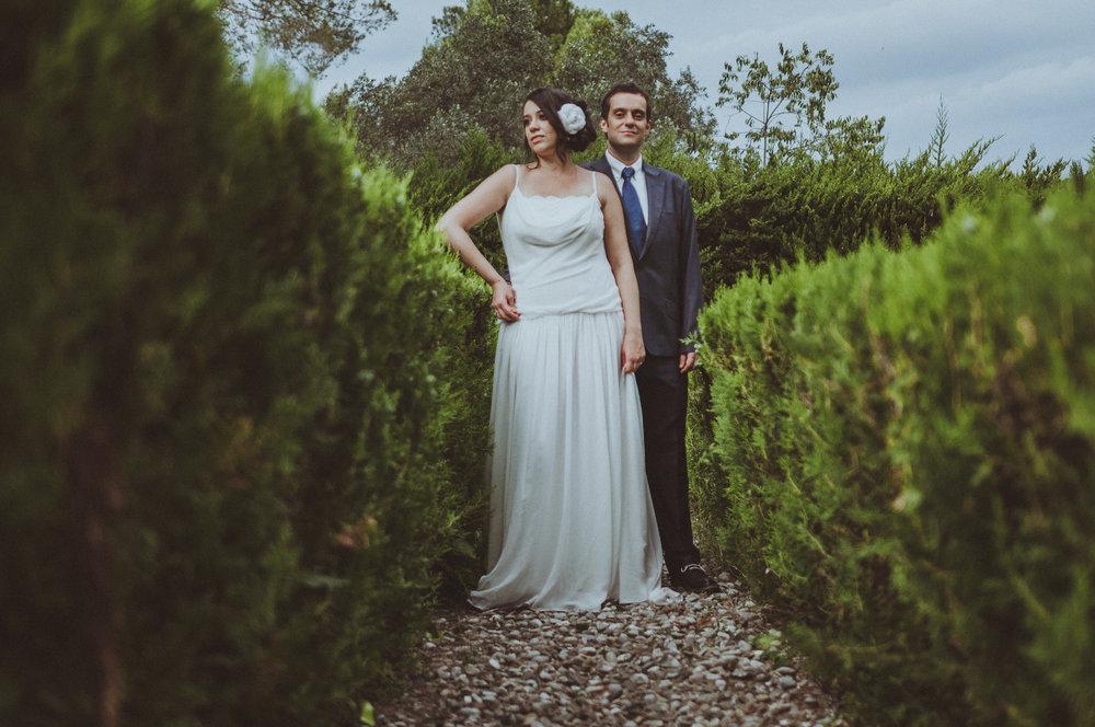 Natalia & Luis - Una boda diferente en la Masia de Can Deu. Sabadell, Barcelona.