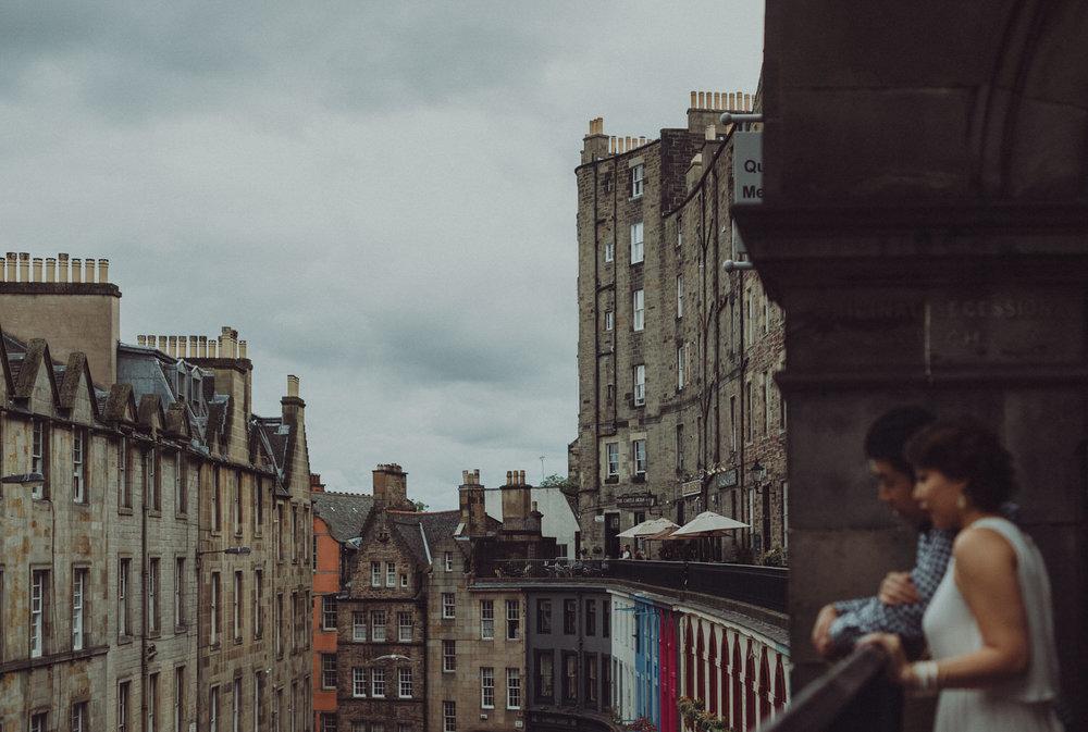 Hui Ying & Lionel's Edinburgh engagement shoot