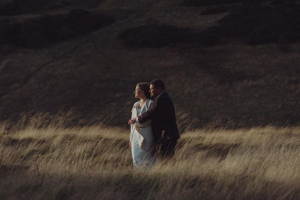 Andrew & Joanne's Edinburgh elopement