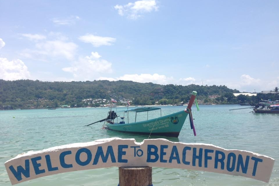 Welcome to Beachfront - Beachfront Divers - Koh Phi Phi, Thailand