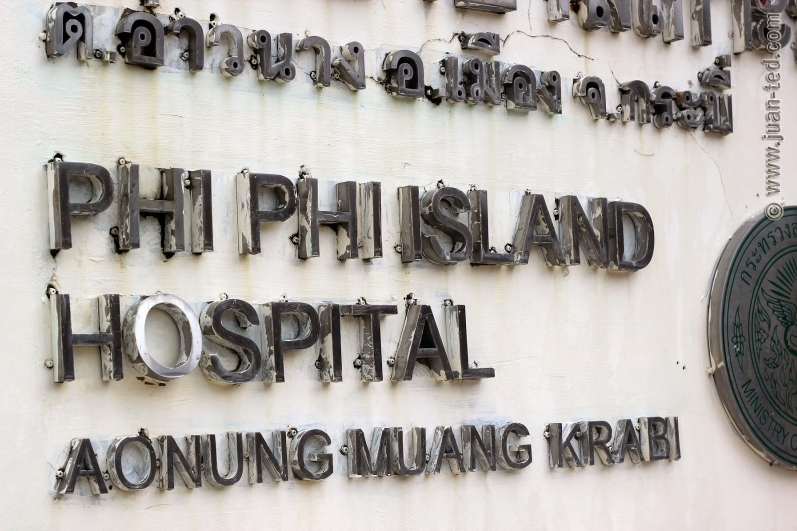 Phi Phi Island Hospital - We donate the ringpulls from our Beachfront Bar to Phi Phi Hospital where they are used to make crutches for children.As if you needed another reason to join us for a beer!