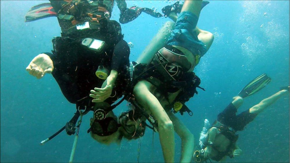 Upsidedown - Beachfront DIvers - Koh Phi Phi, Thailand.jpg