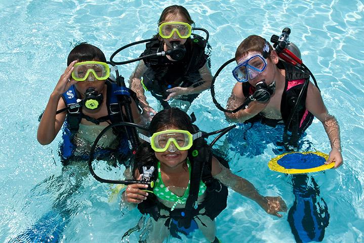 PADI Bubblemaker - Beachfront Divers - Koh Phi Phi, Thailand