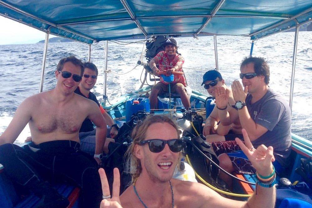 Dive Packages - Beachfront Divers - Koh Phi Phi, Thailand
