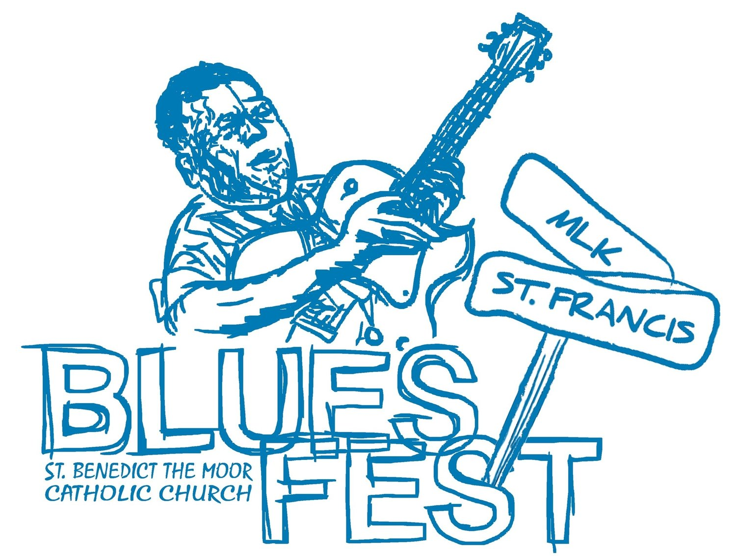 St Benedict the Moor Blues Fest