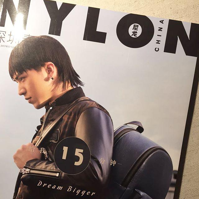 Me on Nylon magazine.  Talk something with Love.  Interview: Ginkbugo  Photo: @sunwukongk