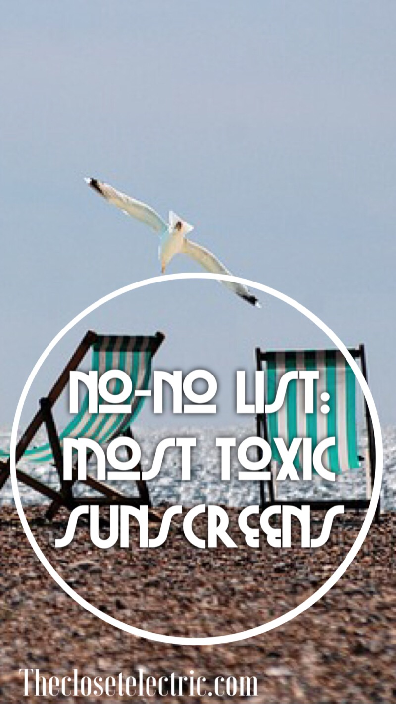 most toxic suncreens and safe alternative non toxic sunscreen