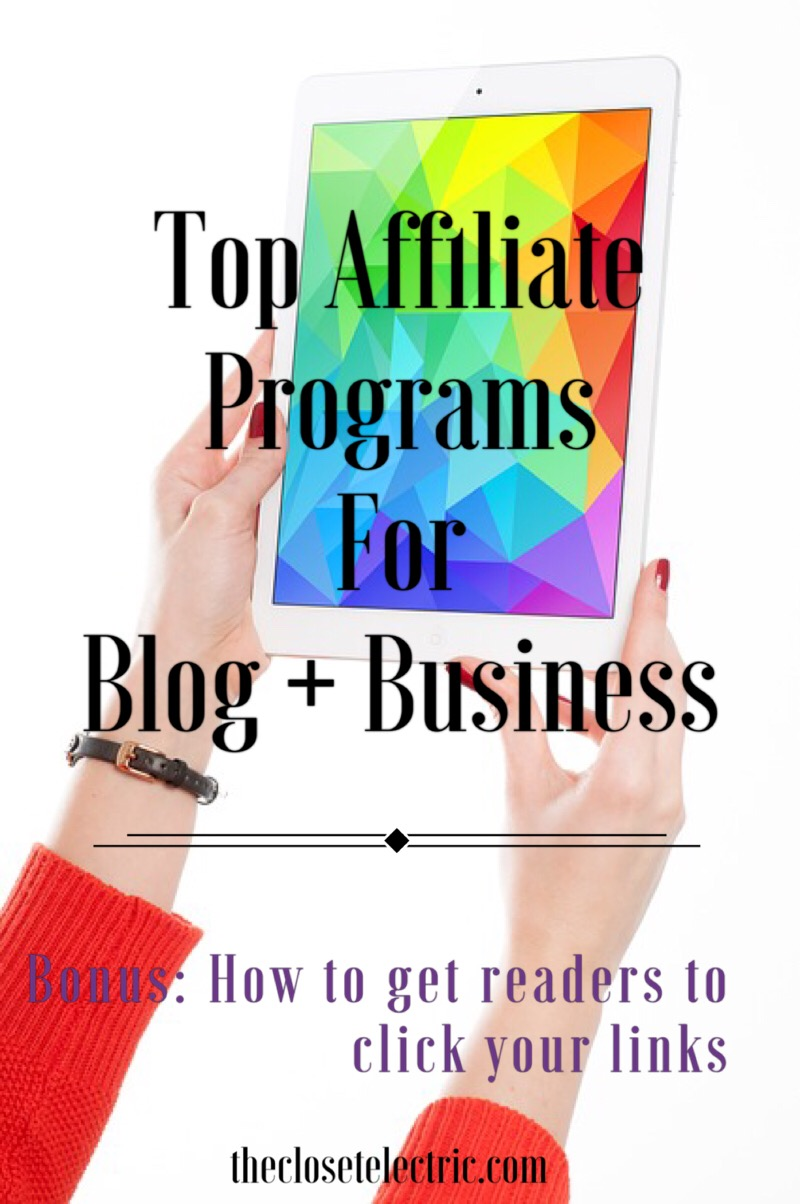 top affiliate programs for blog and business