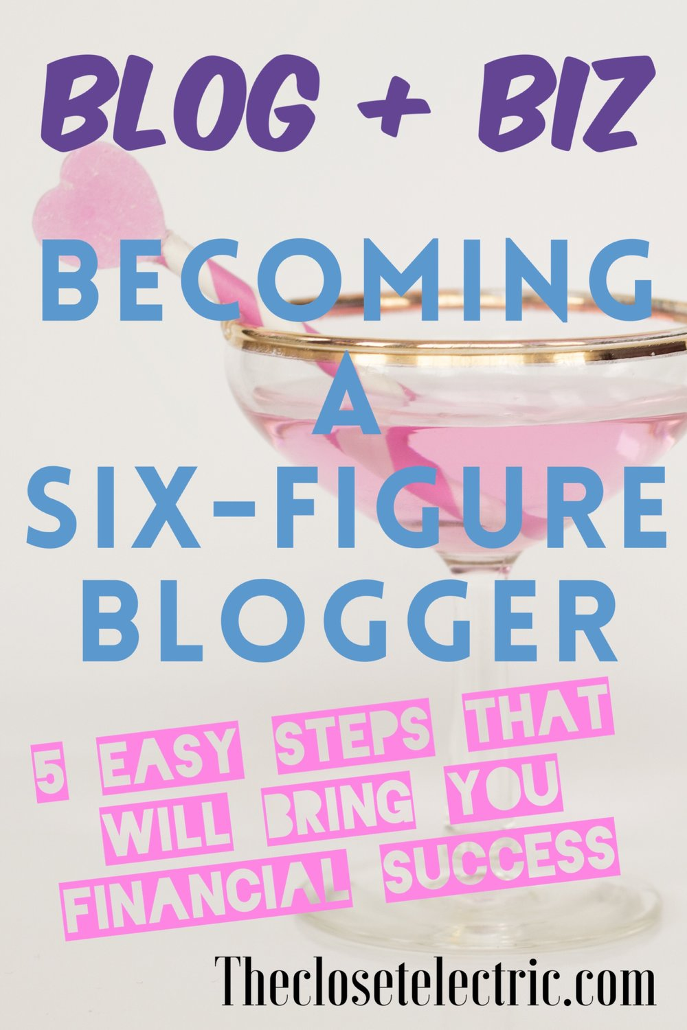 six figure blogger