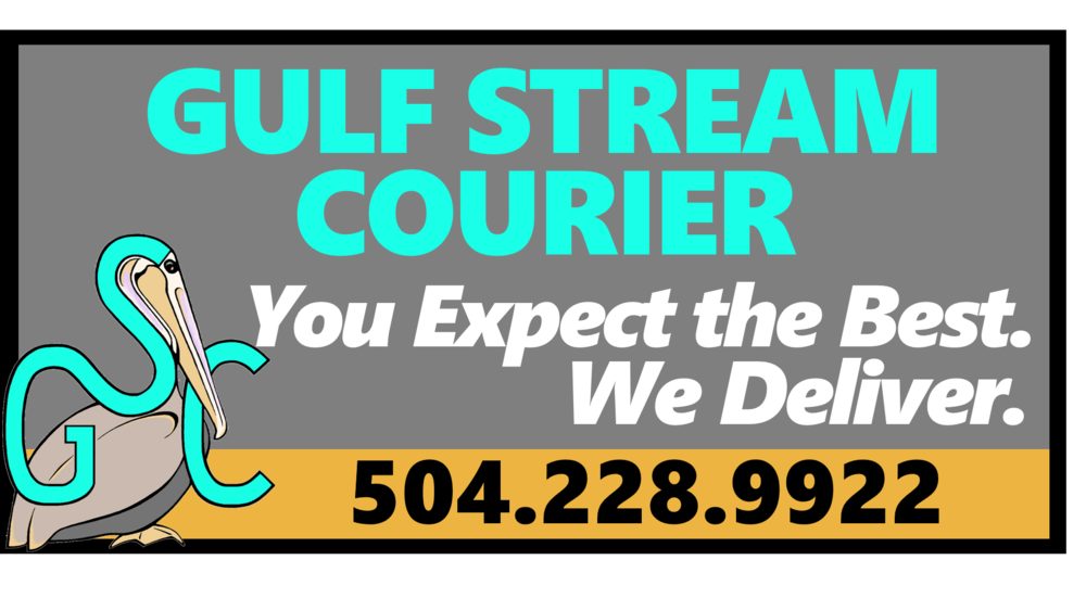 Gulf Stream Courier Sign