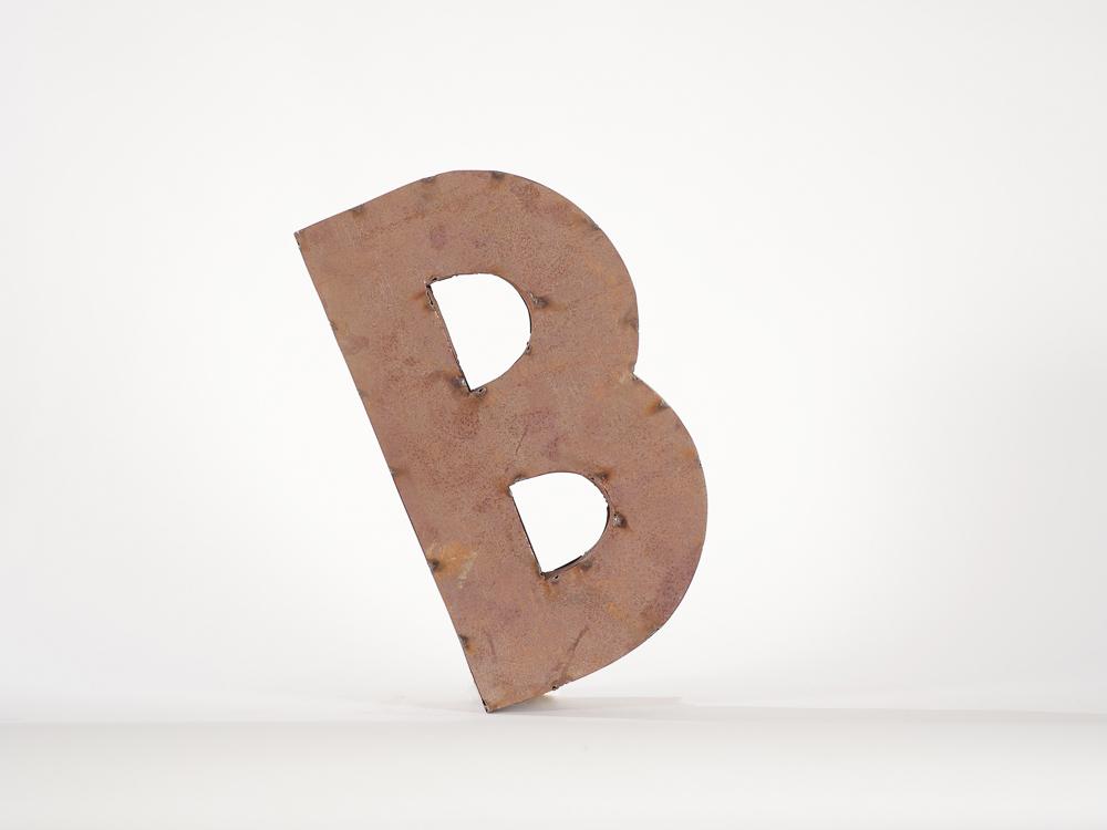 Rusty Letter B