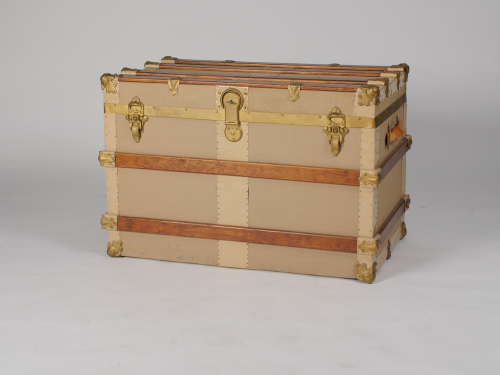 Rose Steamer Trunk