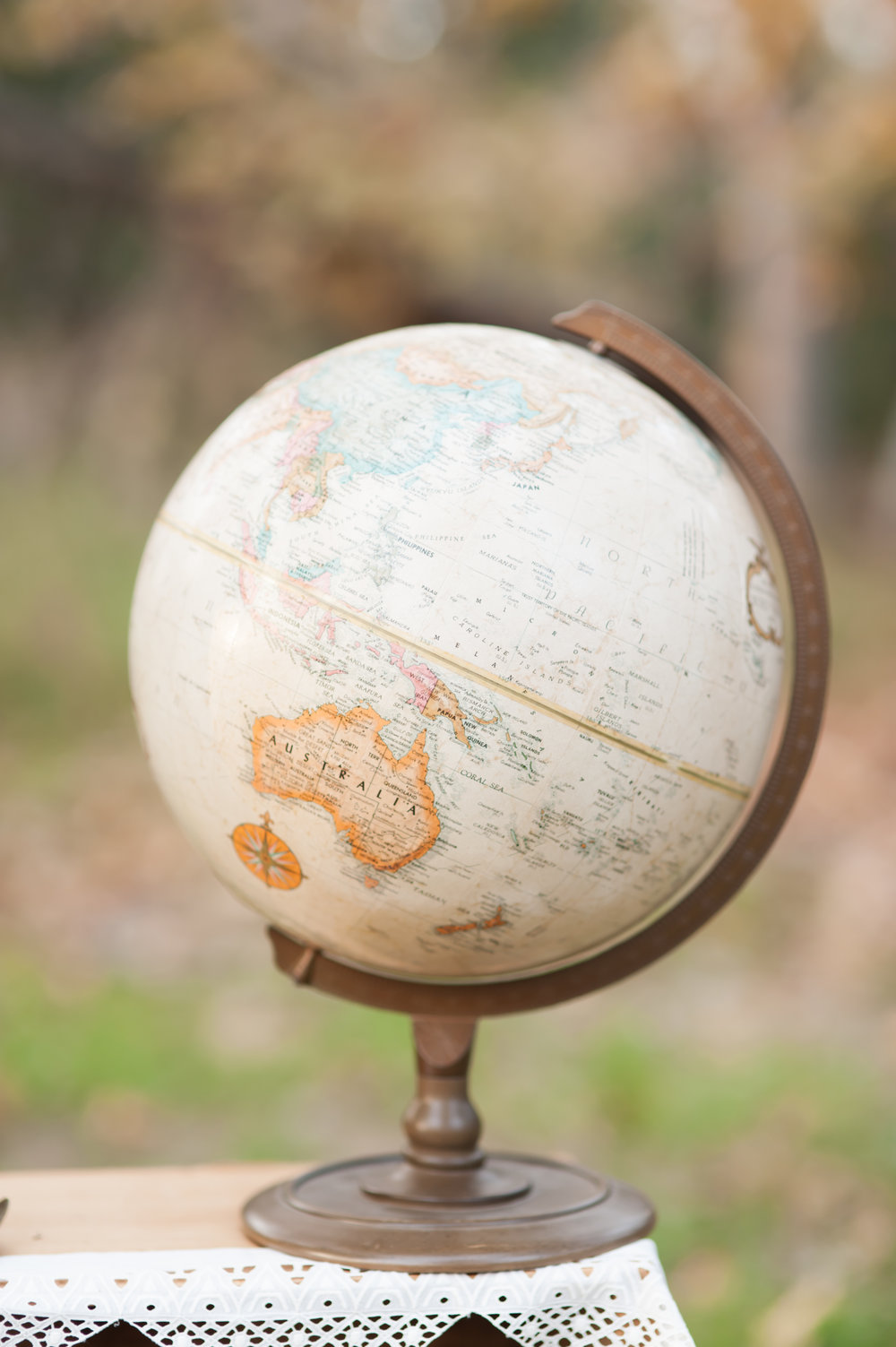 Evan White World Globe
