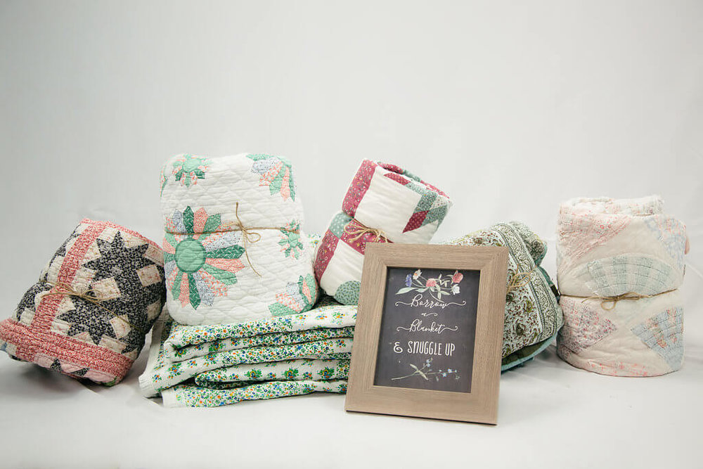 Patricia Quilts & Blankets