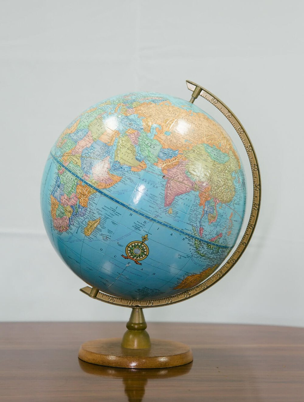 North Hills Blue World Globe
