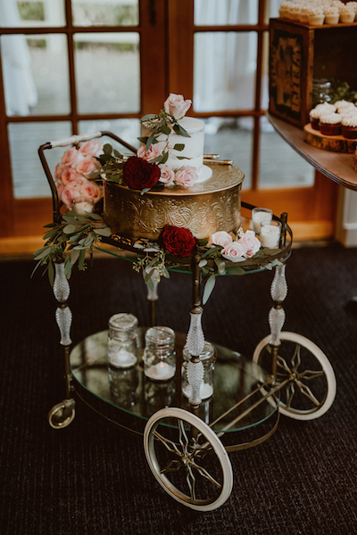 Provenance Vintage Rentals Los Angeles Vintage Bar Cart Rental Cake Table Calamigos Ranch Malibu Wedding.png