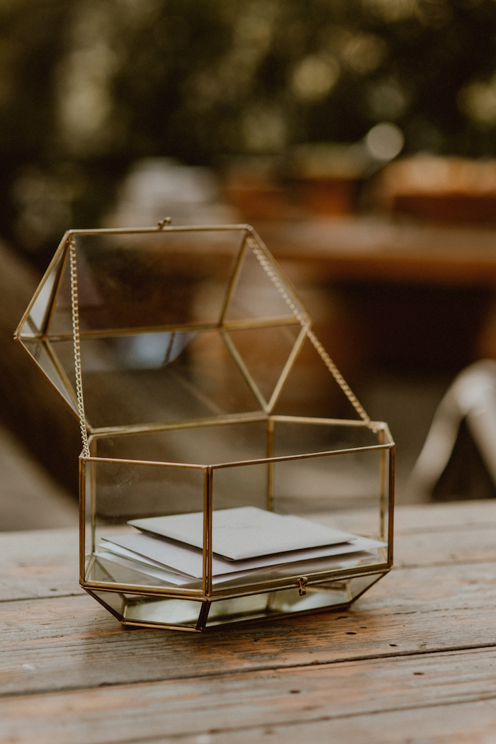 Geometric Card Box