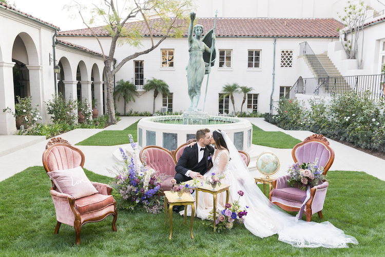 Featured on Southern California Bride | The Royal Wedding Inspiration
