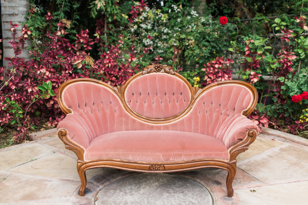 Noreen Pink Victorian Sofa 2 - Provenance Vintage Rentals Los Angeles Vintage Victorian Sofa Rental Prop Rental Los Angeles Sweetheart Table.jpg