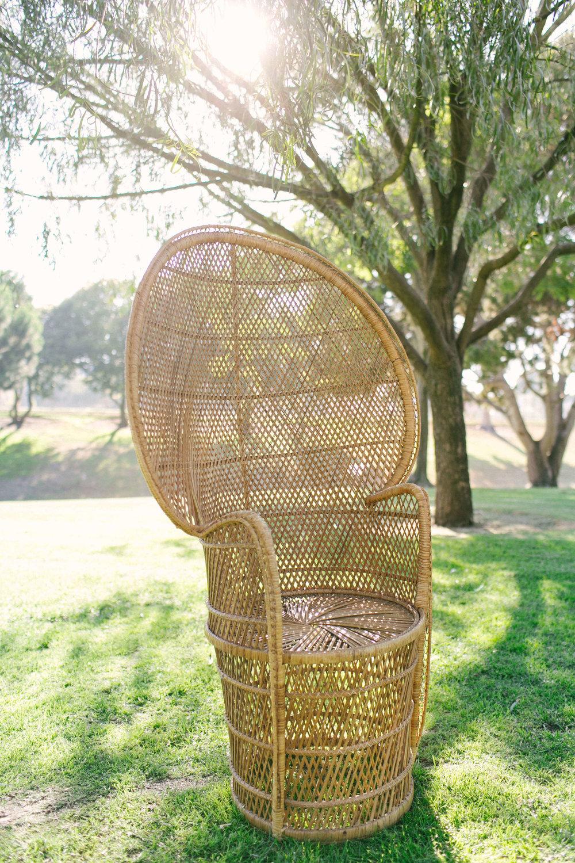 Arwen Peacock Chair 1 - Provenance Vintage Rentals Bohemian Furniture Rentals Peacock Chair Rentals Los Angeles