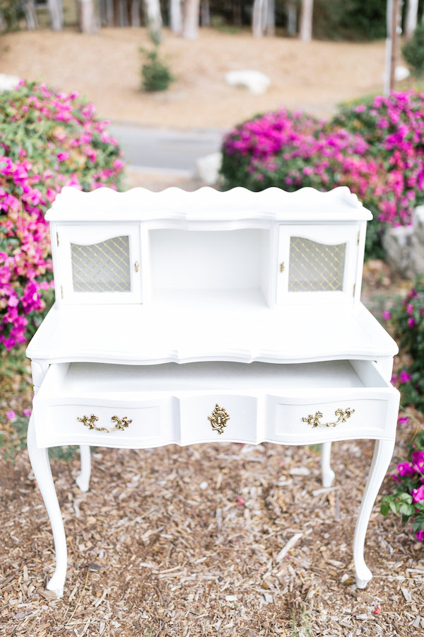 Colette French Writing Desk 4 - Provenance Vintage Rentals Los Angeles Vintage Rentals Near Me French Desk Hutch White Gold French Desk White Gold Wedding Decor Rentals Vintage Furniture Rentals Party Rentals Near Me Los Angeles.jpg
