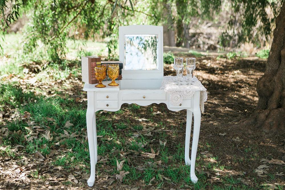 Beverly White Vanity 3 - Provenance Vintage Rentals Los Angeles Vintage Vanity with Mirror Cake Table Welcome Table Vintage Furniture Rentals Party Rentals Los Angeles.jpg