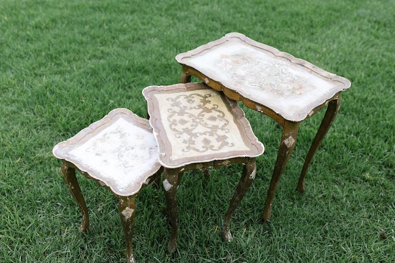 Isabella Gold Nesting Tables, Set of Three 2 - Provenance VIntage Rentals Los Angeles Vintage Rentals Near Me Party Rentals Los Angele Party Rentals Near Me Vintage Wedding Decor Near Me.png