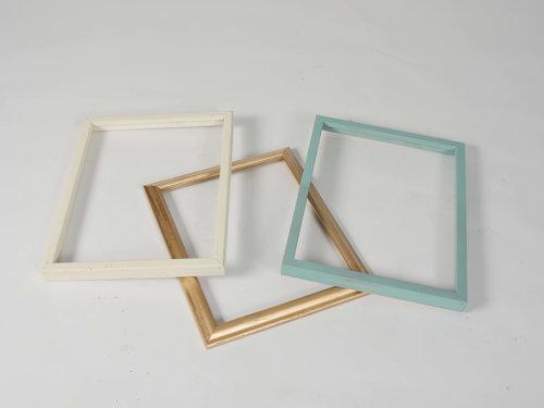 Lucinda Open Frames, Set of Three — Provenance Vintage Rentals