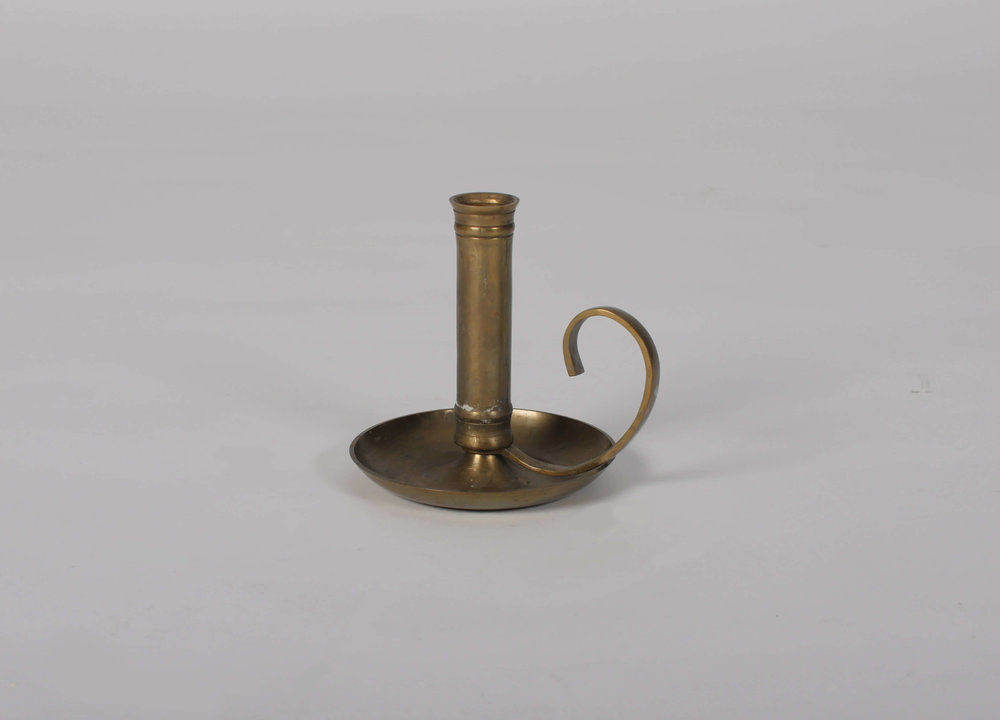 Stella Candlestick Holder 1 - Provenance Vintage Rentals Los Angeles Vintage Gold Brass Candlestick Holder Prop Rentals Party Rentals Specialty Rentals Los Angeles