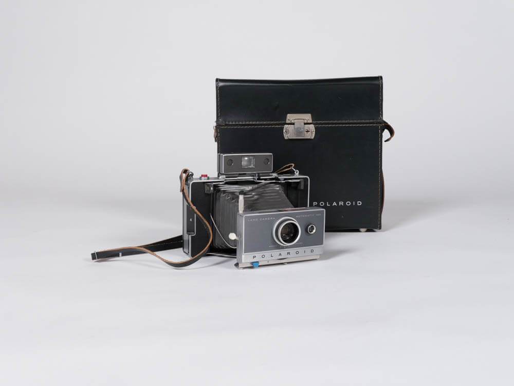 Ansel Polaroid Camera Set 1 - Provenance Vintage Rentals Los Angeles Vintage Camera Rental Travel Theme Props Prop Styling Party Rentals Specialty Rentals Los Angeles